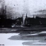 nuit sur le port-monotype-9/13cm