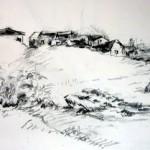 hameau-crayon -14/21cm